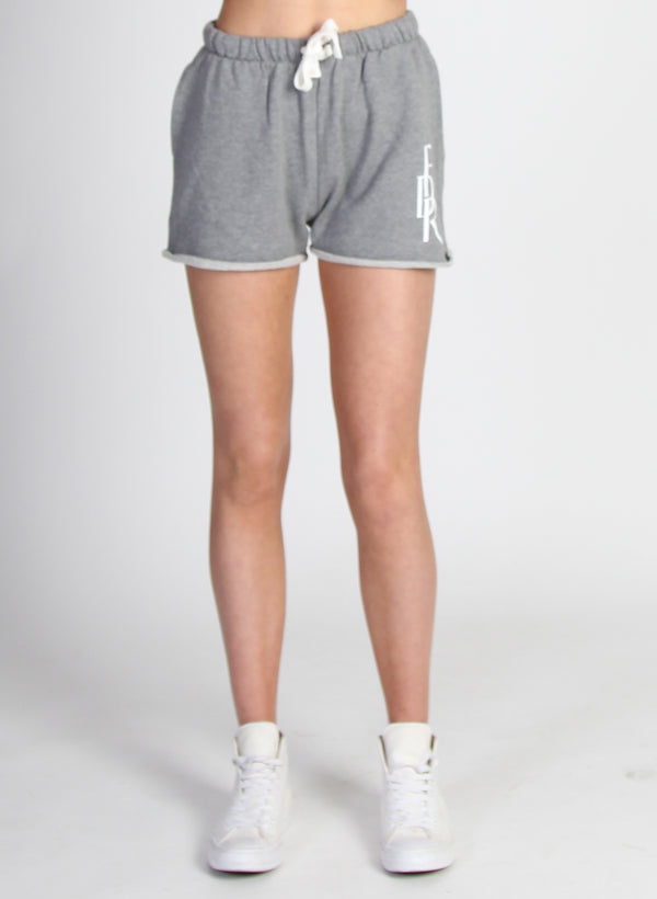 RELAXED TRACK SHORTS