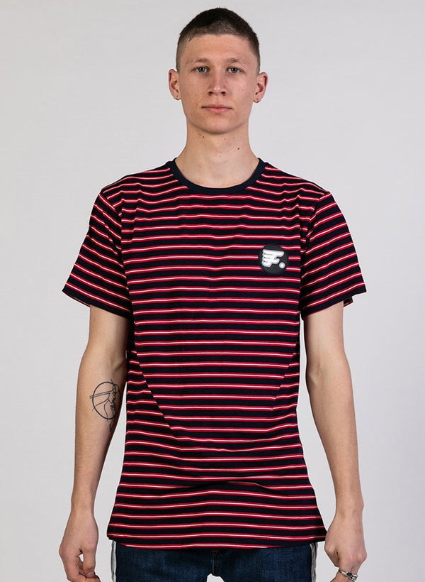 STRIPED LOOK TEE