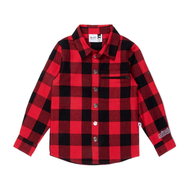 Snappy Flannel Shirt
