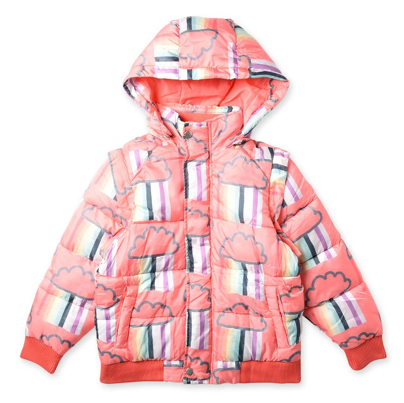 Raining Rainbows Ultimate Puffa Jacket