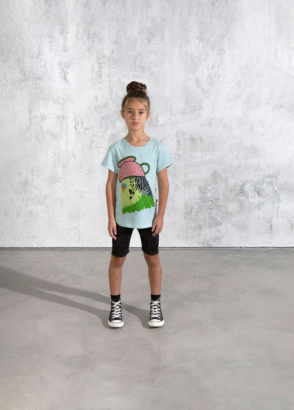 Whimsy Budgie Tee