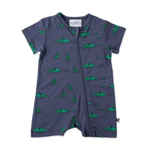 Sneaky Crocs Zippy Suit