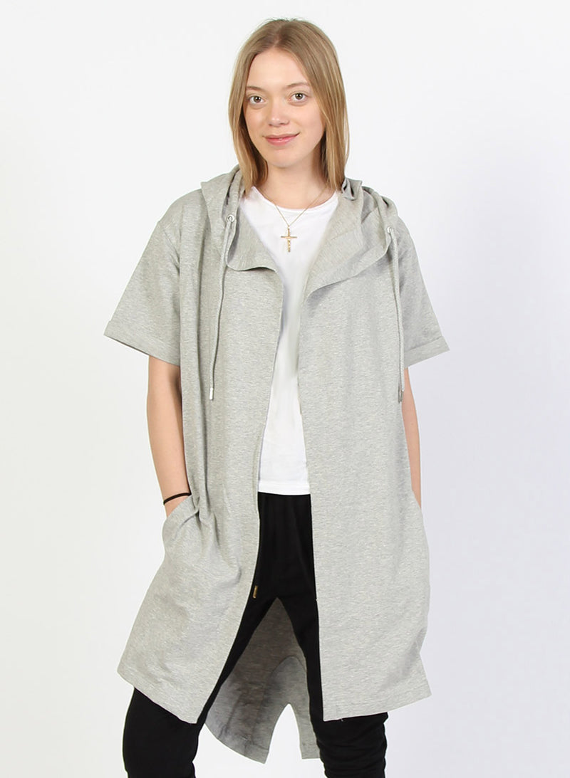 SS KEEPER HOOD - GREY MARLE