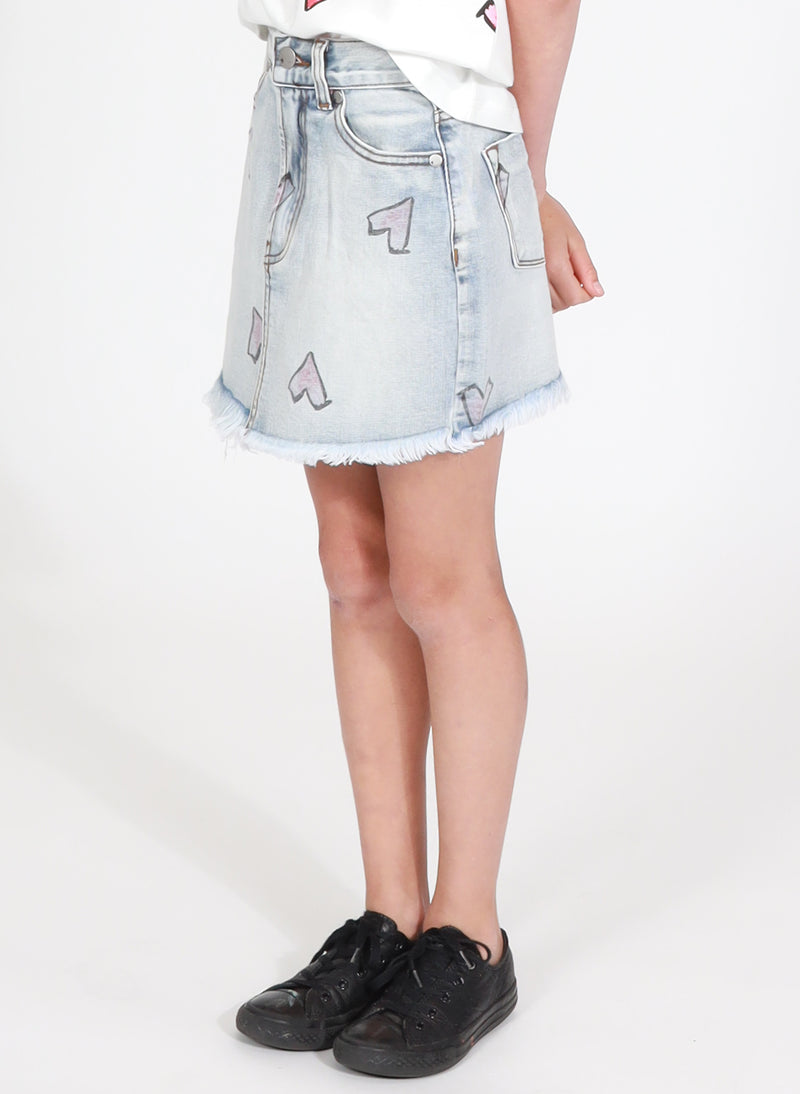WELCOME SKIRT - HEART