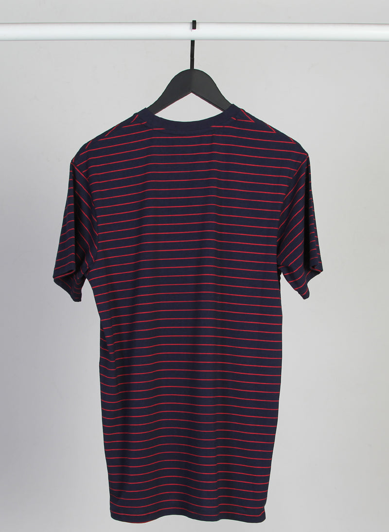 STRIPED AYE TEE - PLUS DOT