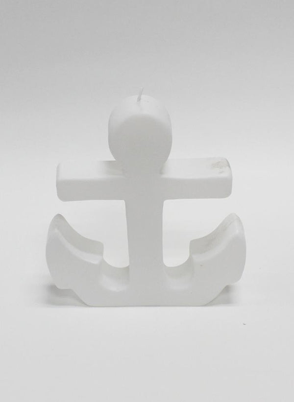 SCULPTED CANDLE - ANCHOR
