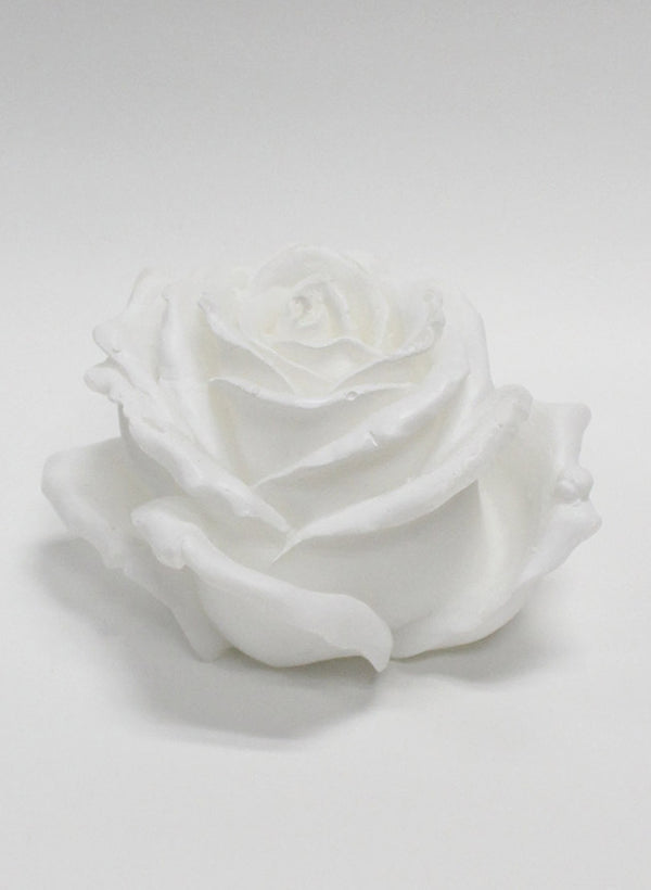 SCULPTED CANDLE - ROSE