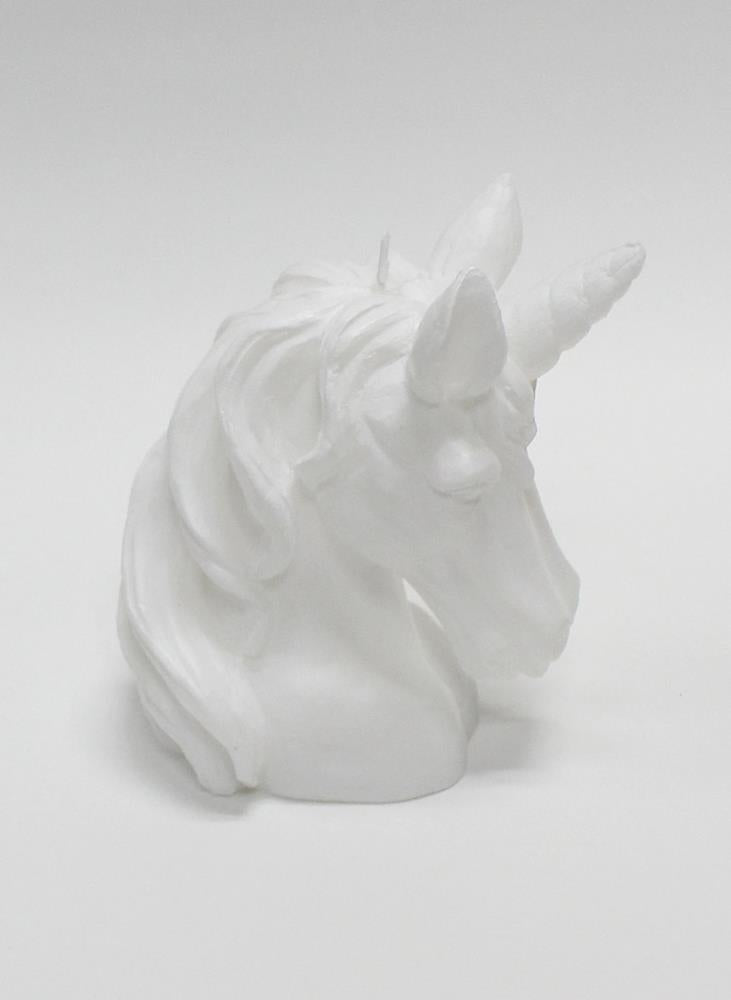 SCULPTED CANDLE - UNICORN