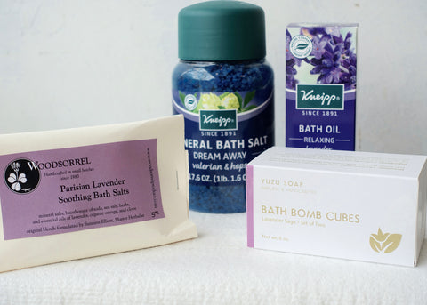 De-stress Bath Essentials Care package