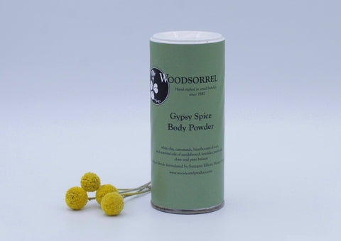 Woodsorrel Gypsy Spice Body Powder