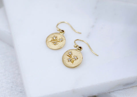 Victoria Cunningham Cherry Blossom Earrings