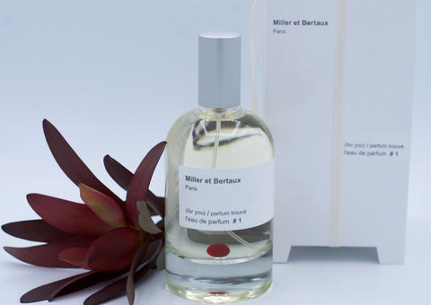 Miller et Bertaux (for you) / Parfum Trouve #1