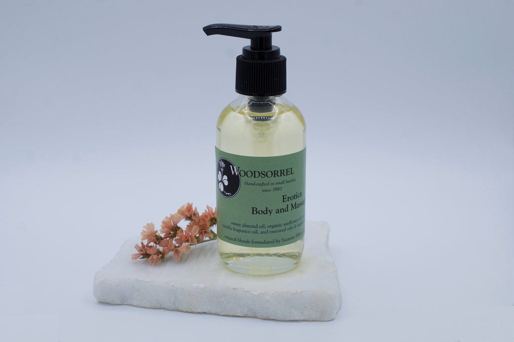 Woodsorrel Erotica Body and Massage Oil