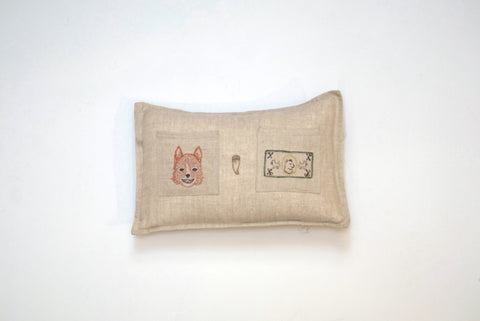 Fox Tooth Fairy Pillow