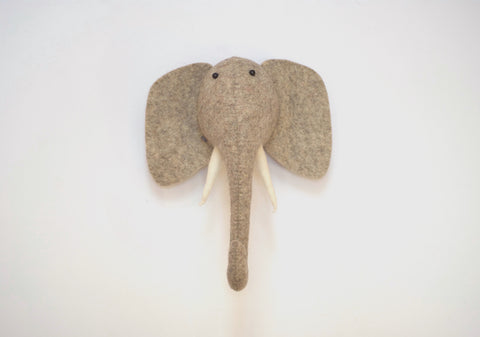 Mini Animal Head - Elephant