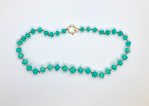 Rockstella Amazonite Beaded Necklace