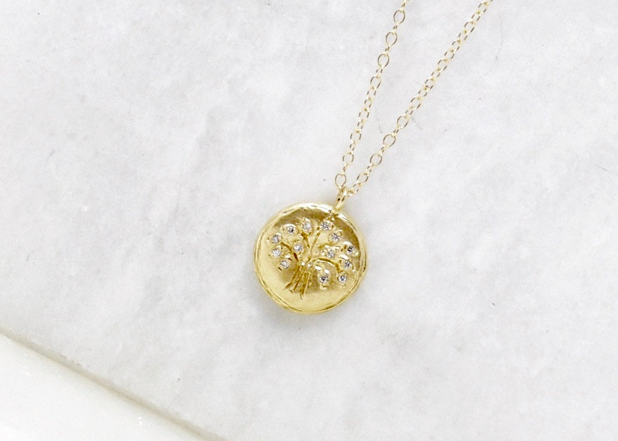 Victoria Cunningham Tree of Life Necklace