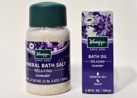 Kneipp Lavender Bath Salts & Oil