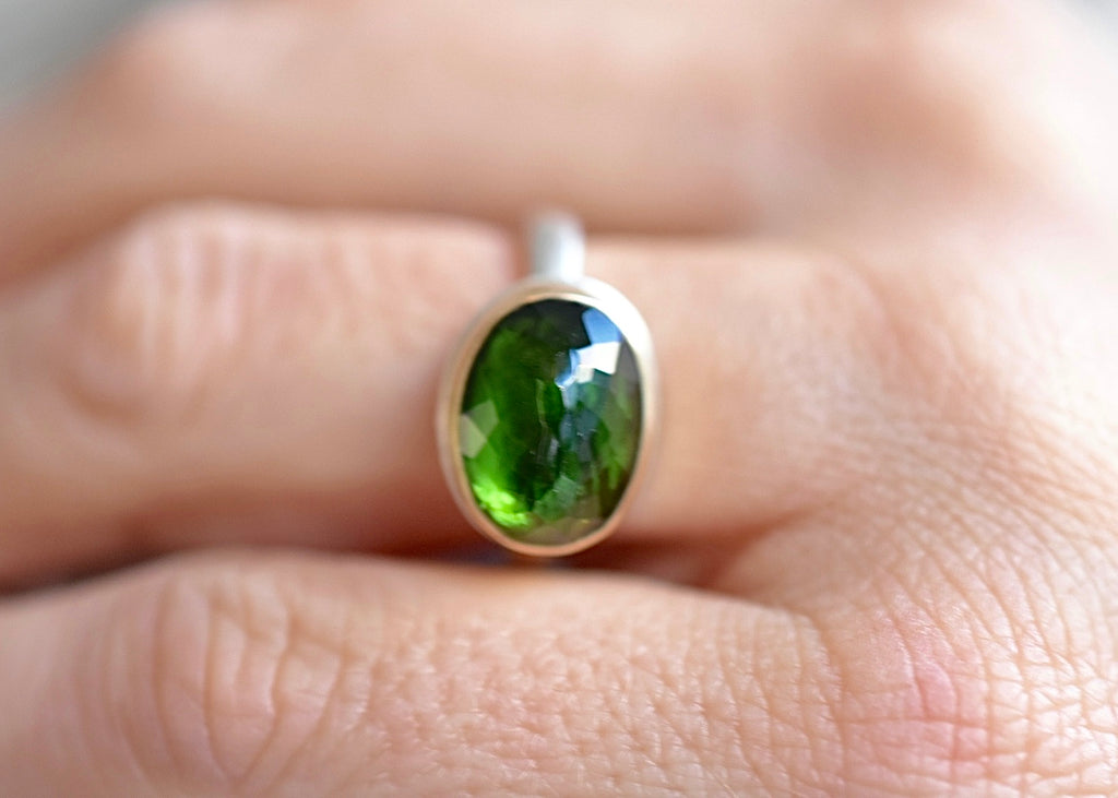 Jamie Joseph Green Tourmaline Ring