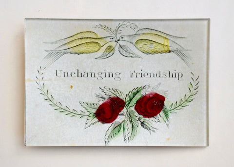 John Derian Unchanging Friendship Découpage Plate