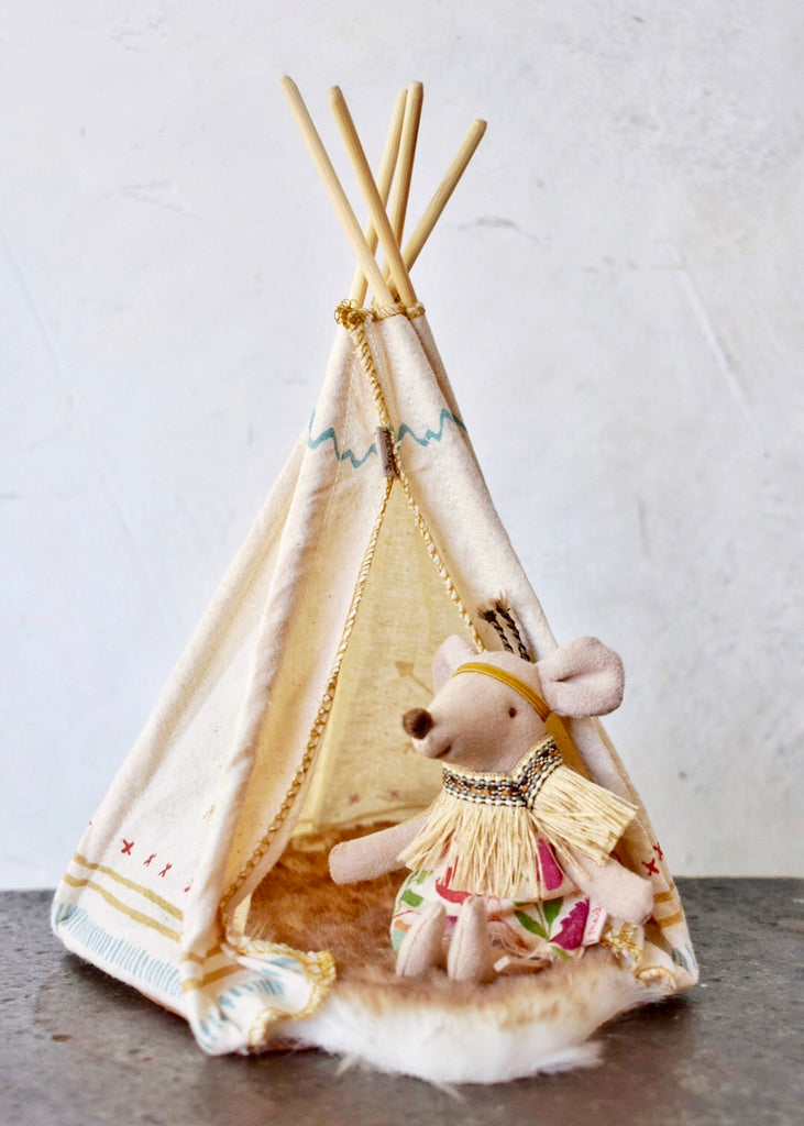 Maileg Little Feather with Teepee