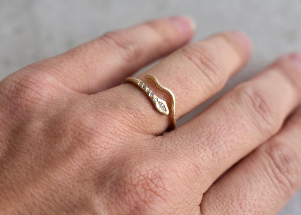 Victoria Cunningham Snake Ring