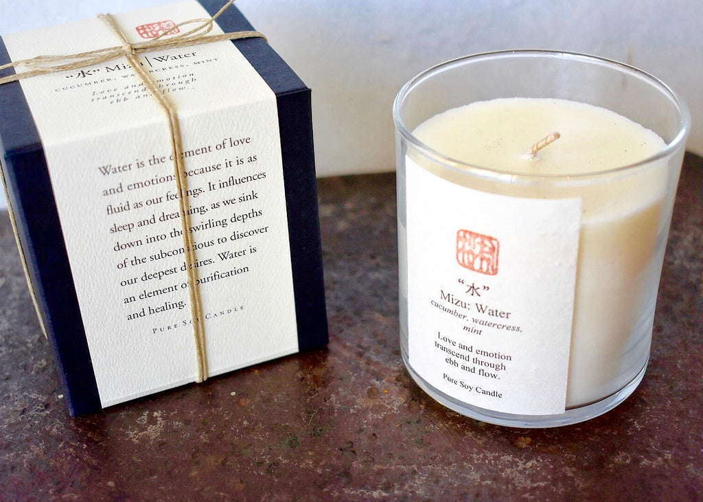 Eastern Accent Five Element Water Candle