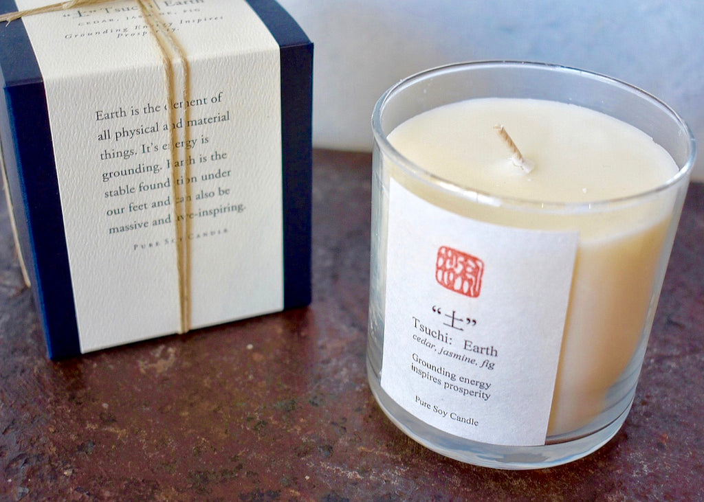 Eastern Accent Five Element Earth Candle