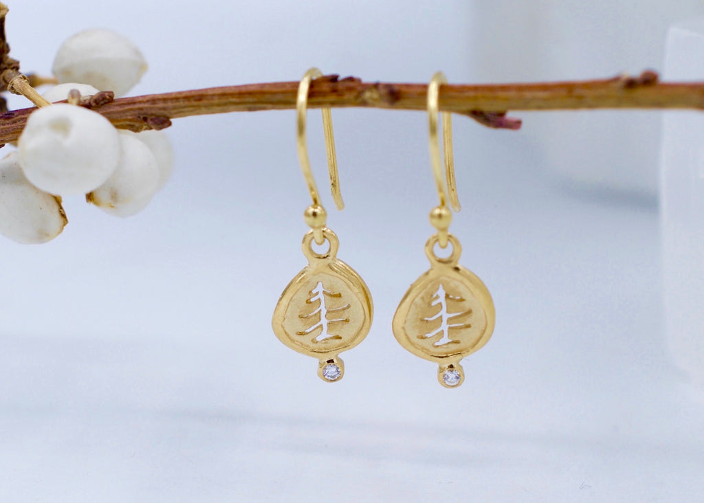 Anne Sportun Tree Charm Earrings