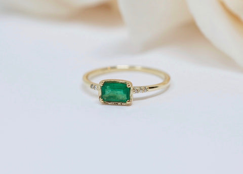 Ila Collection Karina Emerald Ring