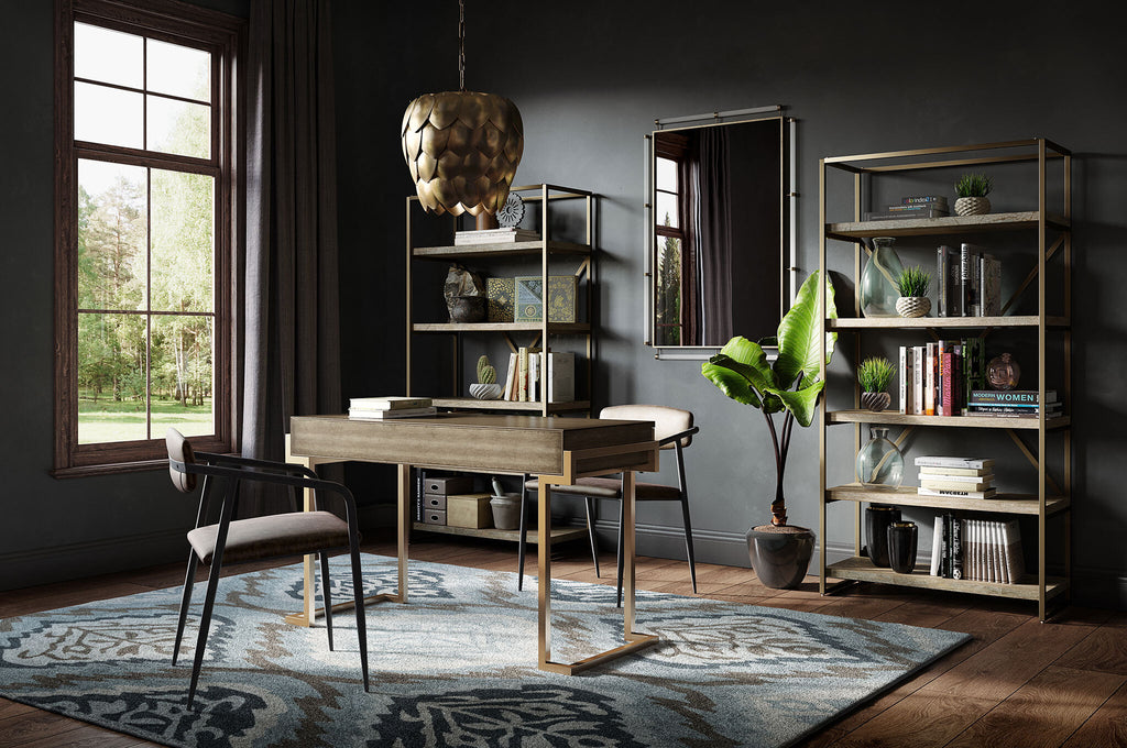 Sophisticated Glam Home Office
