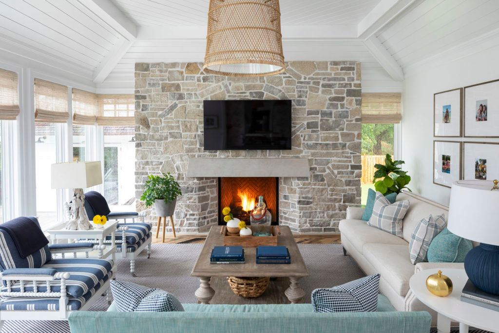 Sitting room designed by Martha O'Hara Interiors, taken by Troy Thies Photography
