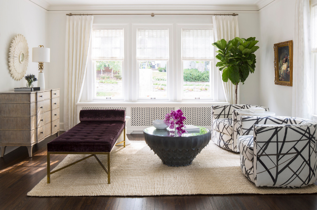 Sitting room designed by Martha O'Hara Interiors, photo by Troy Thies Photography