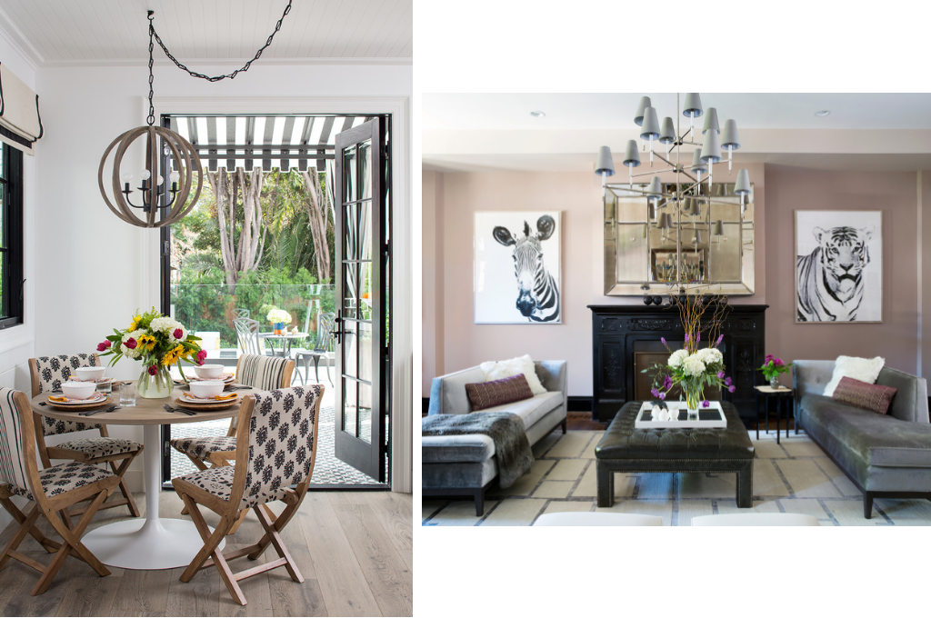 Dining room and living room Design by Breeze Giannasio   Courtesy of Meghan Bob Photography & Stacy Zarin Goldberg