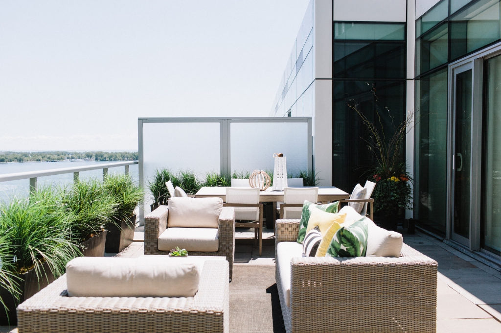 Outdoor space Design by DL Arch + Design