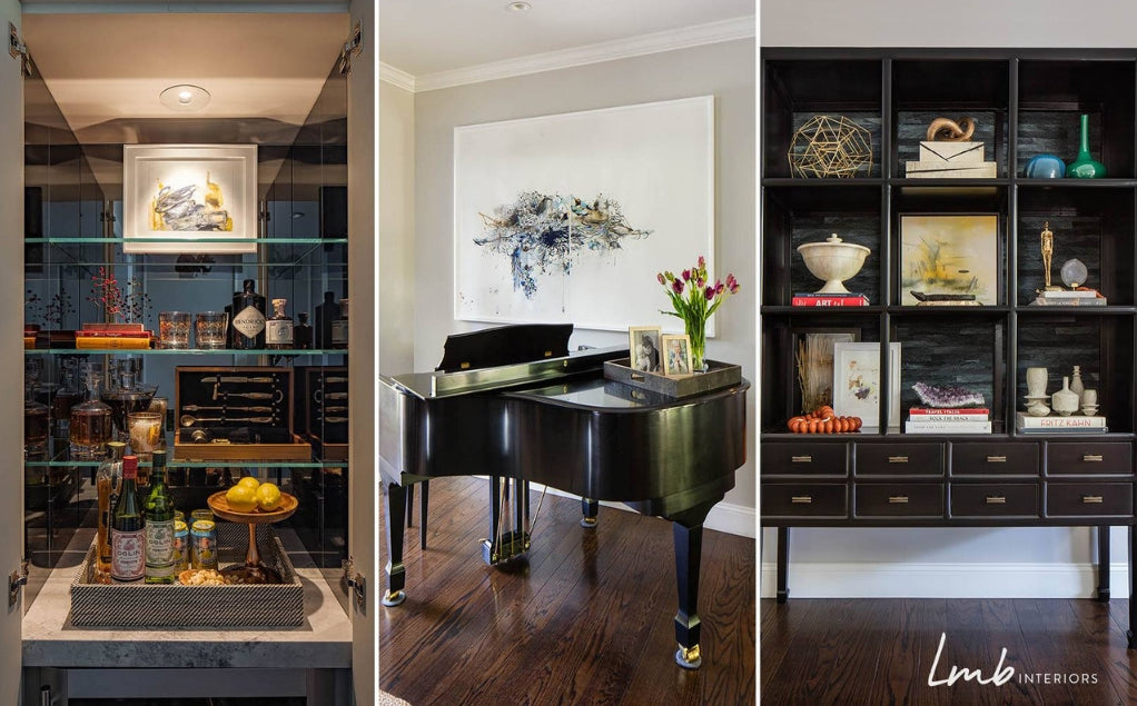 Lounge design by Laura Martin Bovard of LMB Interiors