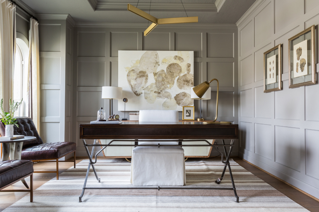 Home office Design by Marie Flanigan Interiors