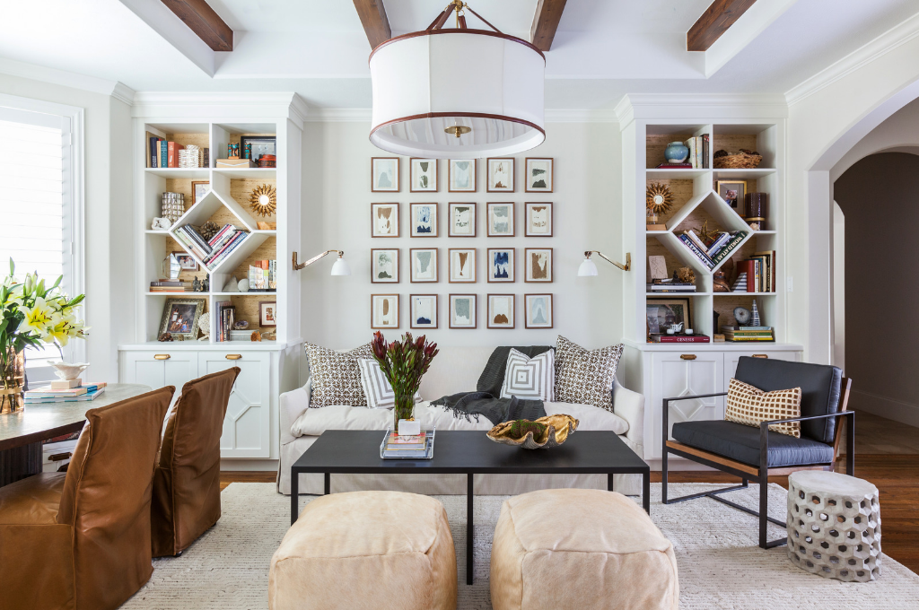 Sitting area Design by Marie Flanigan Interiors