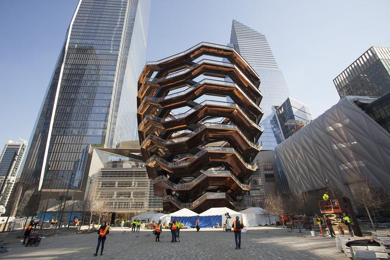 Hudson Yards' The Vessel in NYC