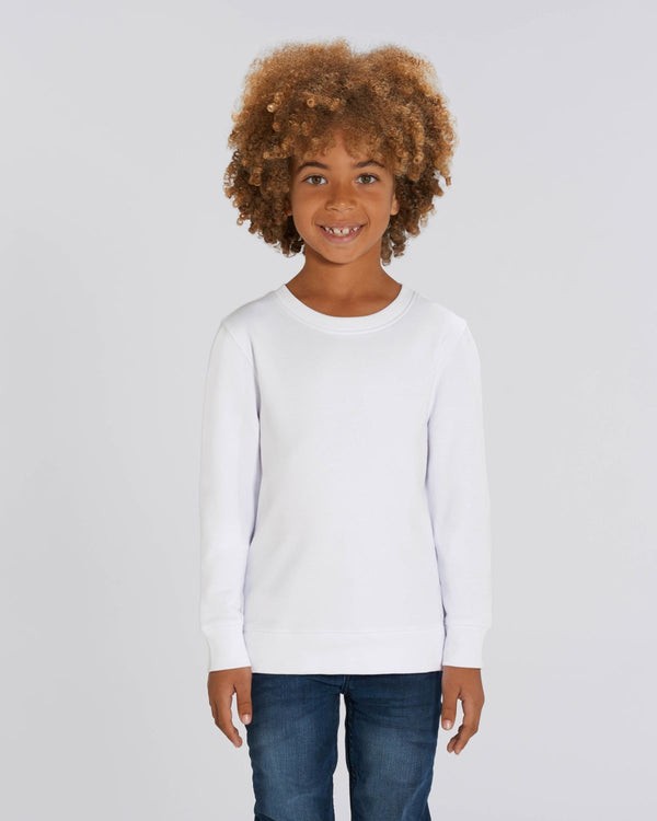 sweat shirt unisexe enfant mini rise personnalisable