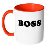 Boss Custom Accent Mug - Whatchamadoodles