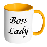 Boss Lady Custom Accent Mug - Whatchamadoodles
