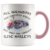 All Grandpas Are Created Equal Accent Mug