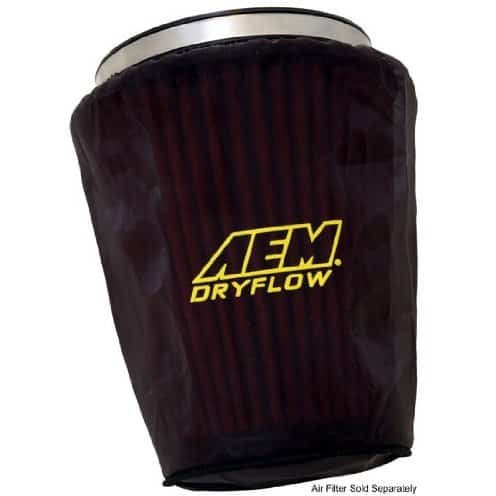 AEM Dry Flow Air Filter Wrap - N63 intake