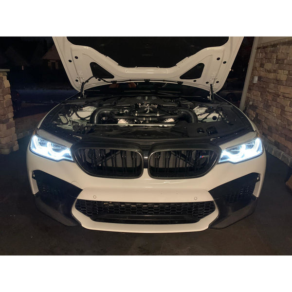 BMW M8 | M5 F90 | F92 | F93 Intake and Filters | F90 M5 FRONT MOUNT INTAKE