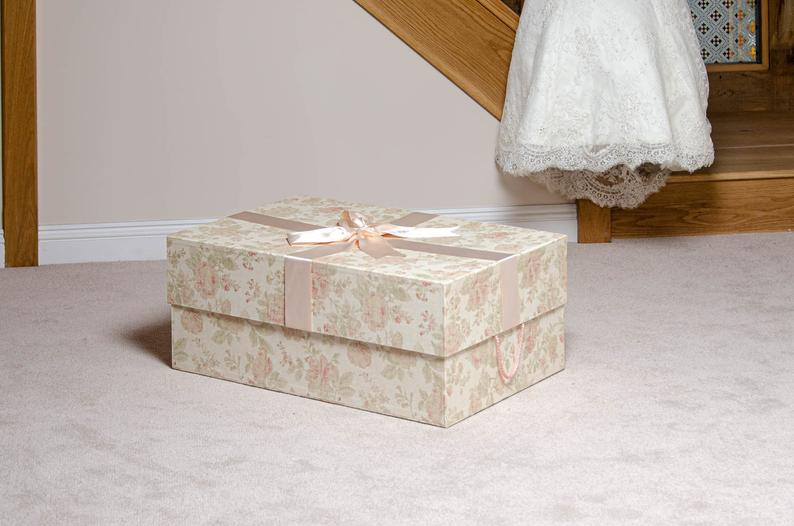Antionette Wedding Dress Storage Box Extra Large