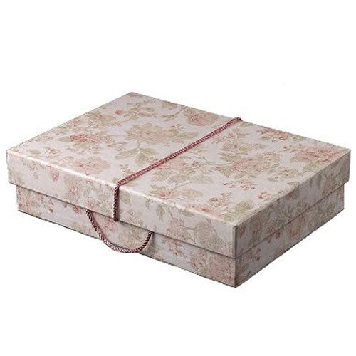 Antique Pink Wedding Dress Travel Box - Medium
