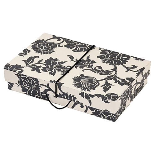 Medusa Black & White Wedding Dress Travel Box - Medium