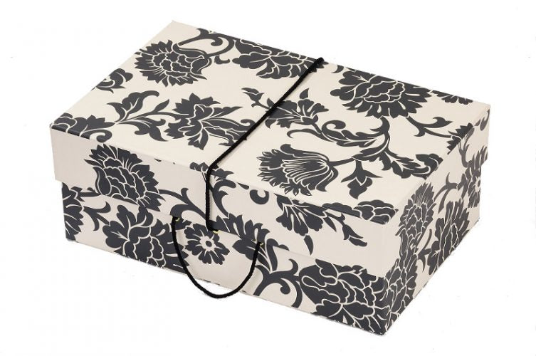 Medusa Black & White Wedding Dress Travel Box - Maxi