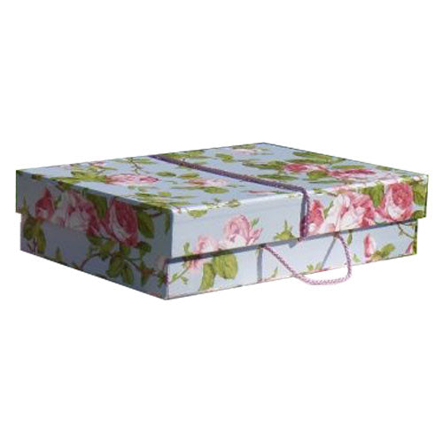 Vintage Rose Wedding Dress Travel Box - Medium
